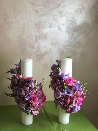 Lumanari flori naturale 600 lei
