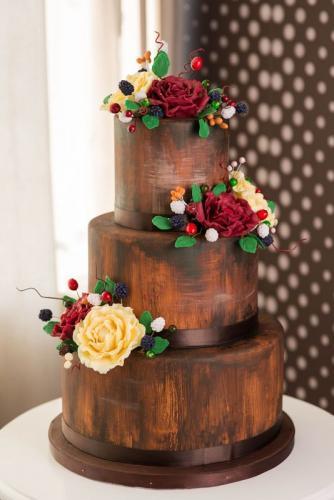 torturi-iasi torturi nunta vintage-cu-flori